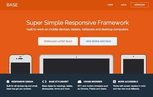Responsive CSS Frameworks