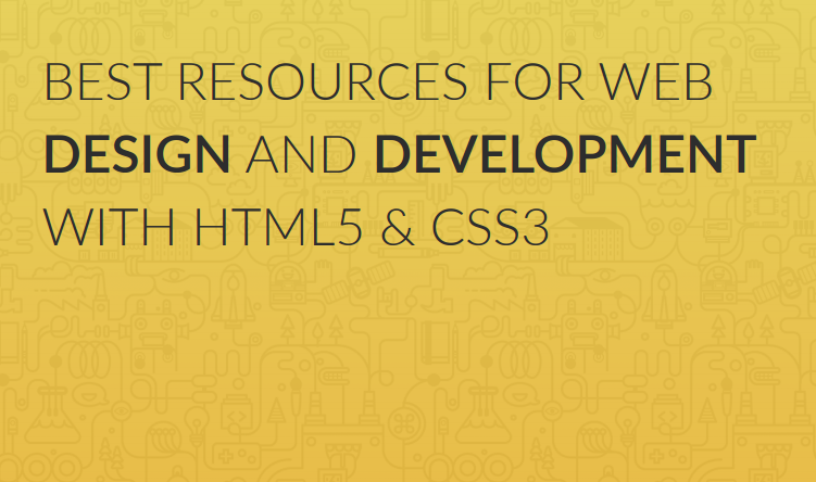 Resources for web design and development
