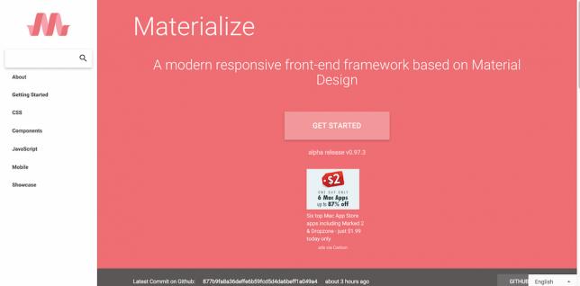 Documentation Materialize