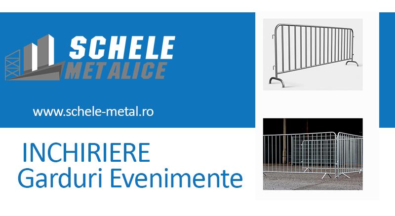 Alege servicii de inchiriere garduri pentru evenimente de la Schele Metal