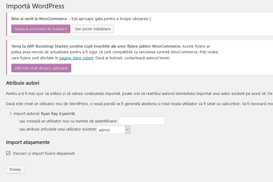 Importa WooCommerce Sample Data