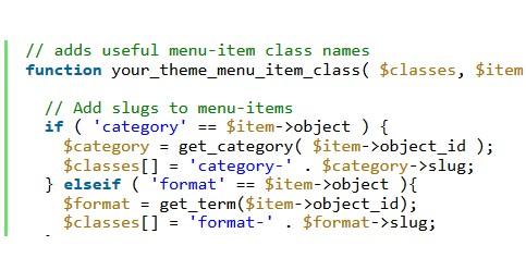 Functie fallback_cb pentru meniu in WordPress