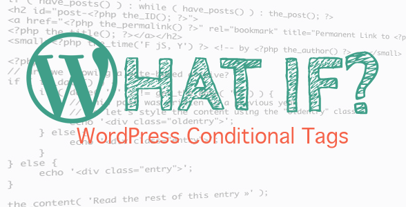 Tag conditionat pentru o pagina specifica cu ID