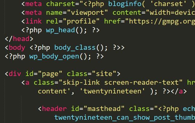 Adaugare cod in WordPress theme dupa tagul body versiunea 5.2