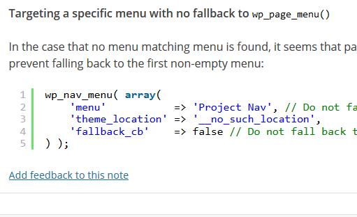 Cum sa adaugi o clasa in li folosind wp_nav_menu() in WordPress