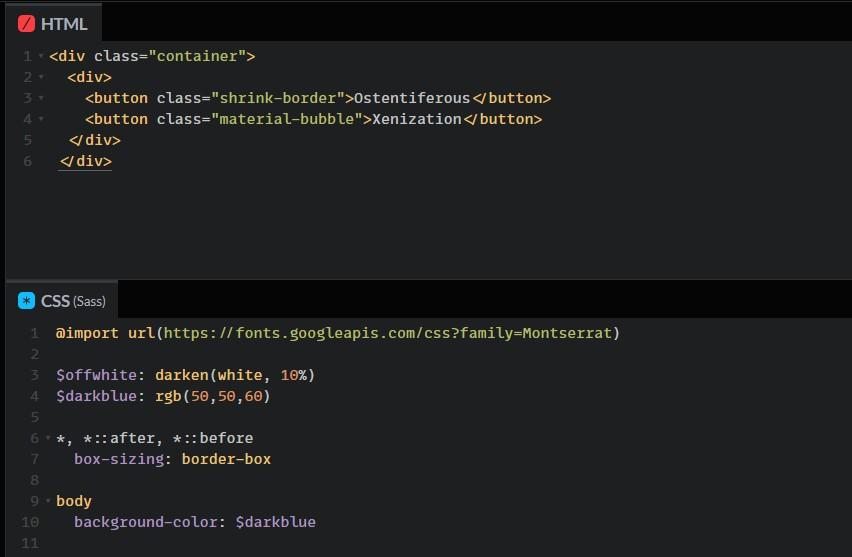 Cele mai bune efecte pentru un buton in CSS