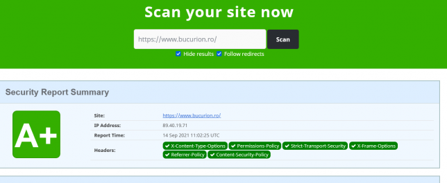 screenshot securityheaders.com 2021.09.14 14 02 33